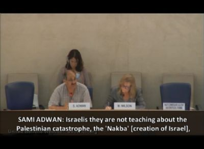 VIDEO: Analogizing Israelis to Nazis is 'human rights' at the UN